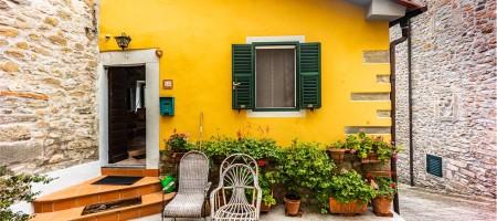 Terratetto Angolare in Stile Rustico a Marliana (PT)