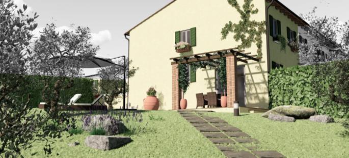 Terratetto di nuova costruzione a Montecarlo (LU)